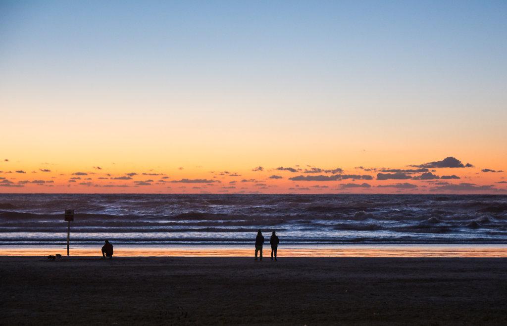 Sunset in Tel Aviv